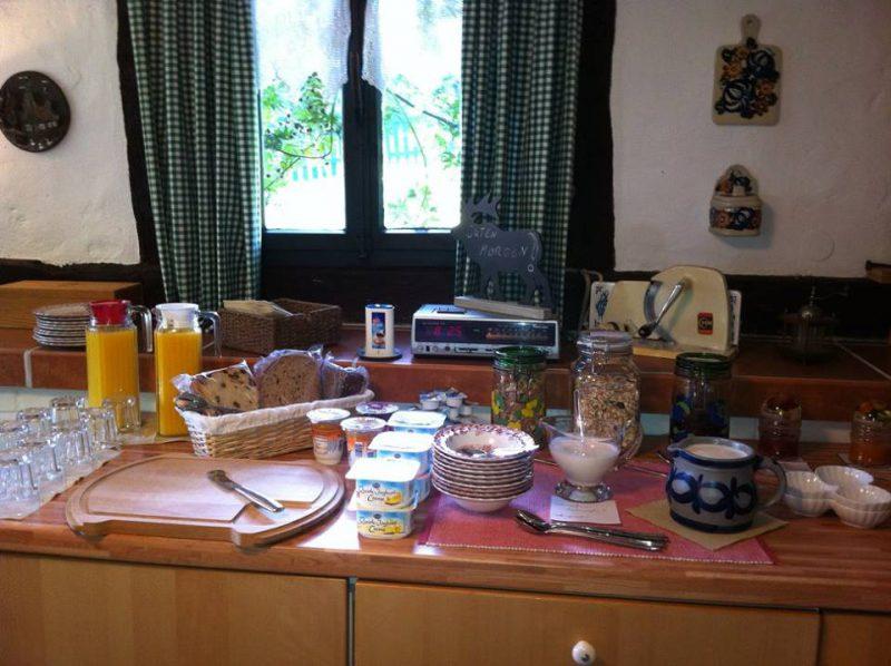 Frühstücksbuffet im Backhaus