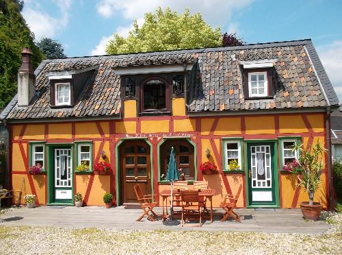Fachwerkhaus an der Wasserburg